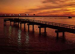 Private lighted fishing pier  ***We now have 2 PENTHOUSES in Rental***