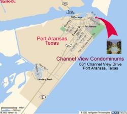 � Arrival via Aransas Pass (Ferry)