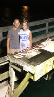 Click to enlarge image Wes Madsen and his sister Annalise - fish slayers! - Wes and Annalise ~Fish Slayers August 2013 -